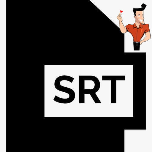 what is an srt file