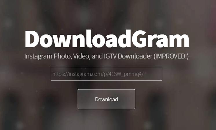 download instagram video in suitable format