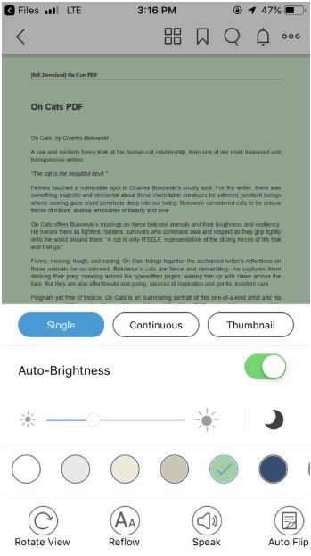 foxit pdf ios editor for free