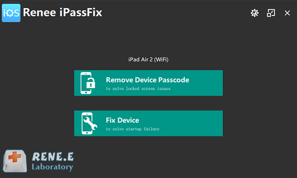 how to fix slowly running ipad with renee ipassfix