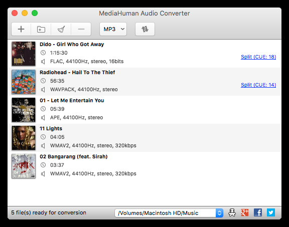 how to transfer music from computer to iphone with mediahuman audio converter