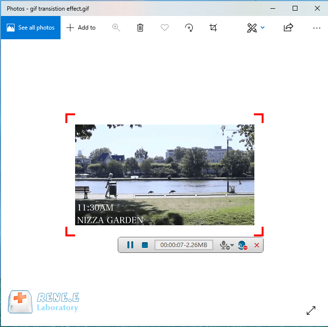 convert gif to mp4 with renee video editor pro