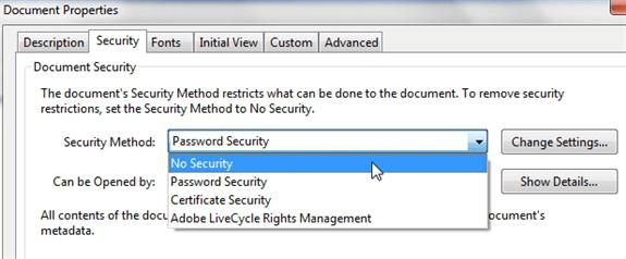 how to encrypt a pdf file