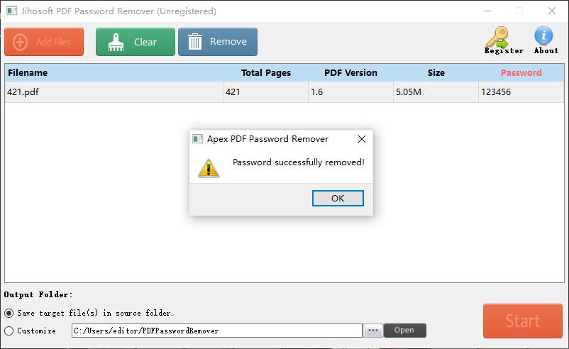 how to encrypt and decrypt a pdf file