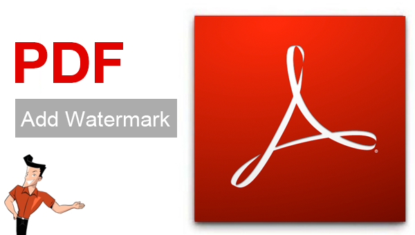 how to add watermark to pdf