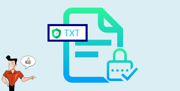 how to encrypt text files