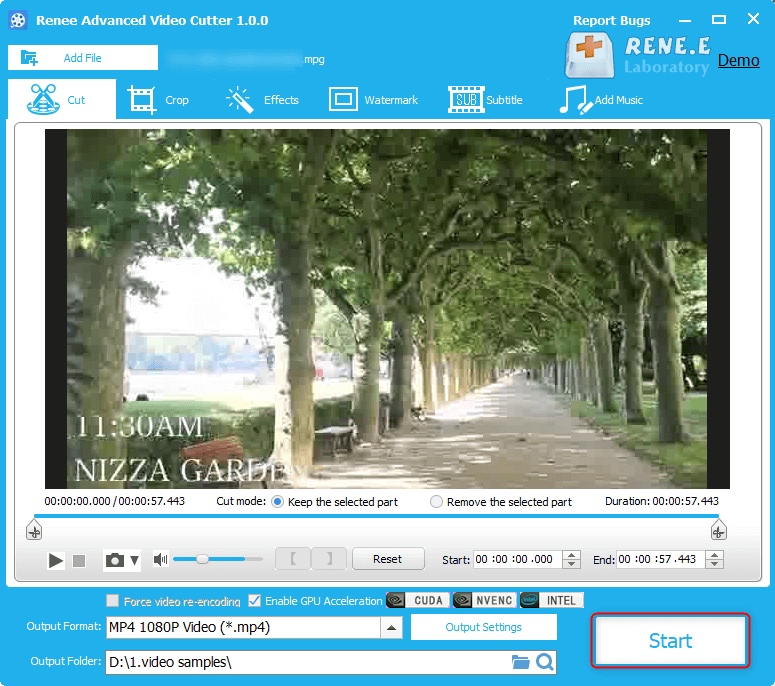 how to convert mpg and mpeg to mp4 with renee video editor