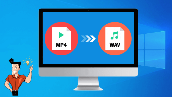 how to use wav convert to convert mp4 to wav