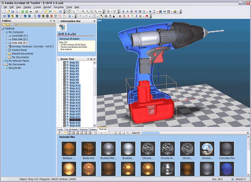 3d pdf viewer adobe acrobat 3D toolkit