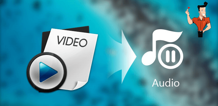 how to convert video to audio