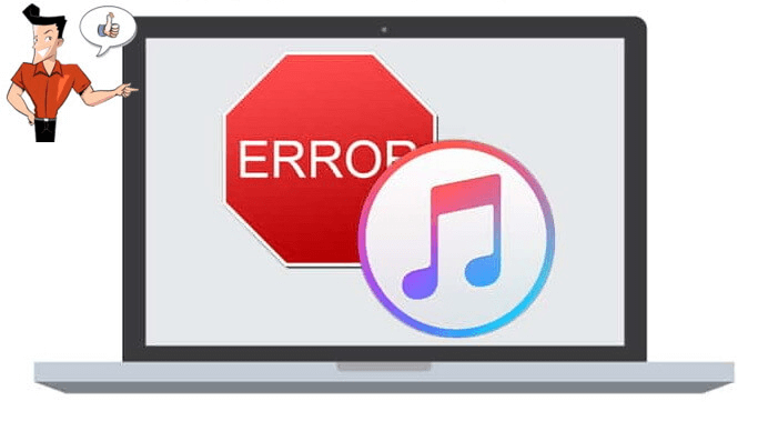 meanings of itunes errors
