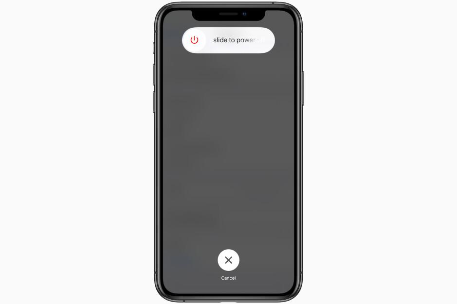turn off slowly running iphone