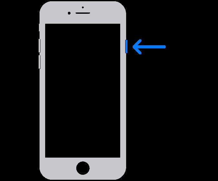 iphone 6 and earlier restart method