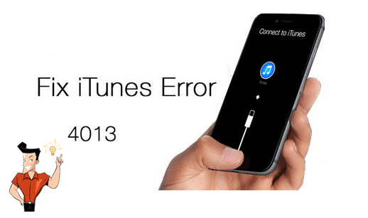 how to fix itunes error 4013