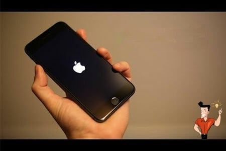 how to restart iphone 7