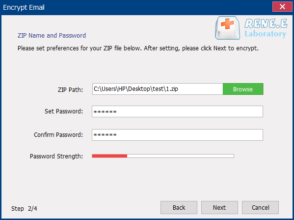 how to encrypt email with renee securesilo