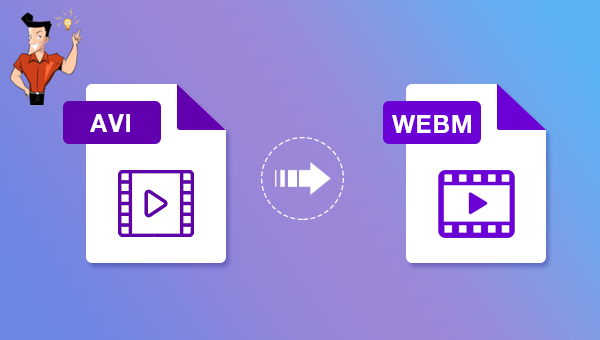 how to avi to webm