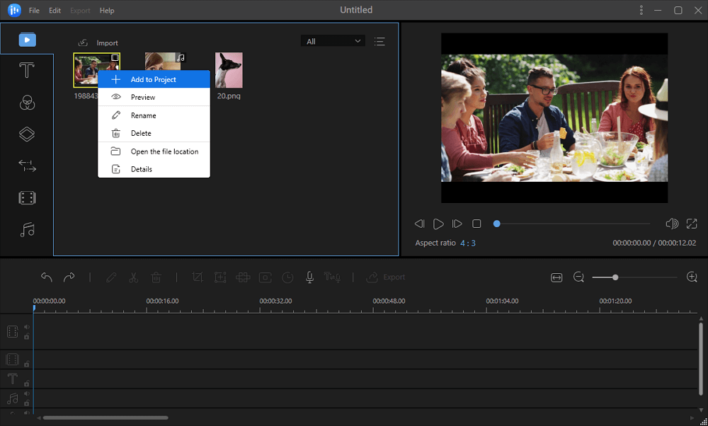 how to voice over a video with easeus video editor