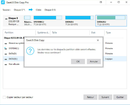 use ssd clone software EaseUS Disk CopyPro