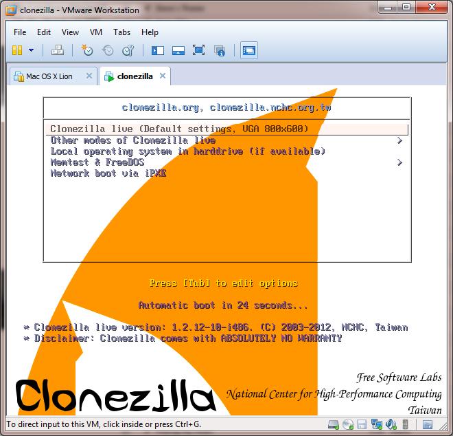 use ssd clone software clonezilla
