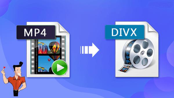 how to convert mp4 to divx online