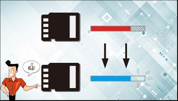 how to restore sd card to full capacity