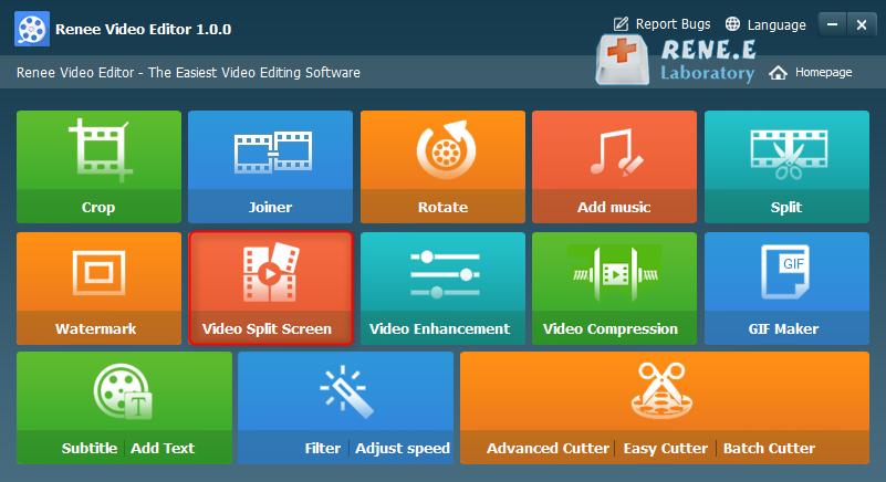 video split screen