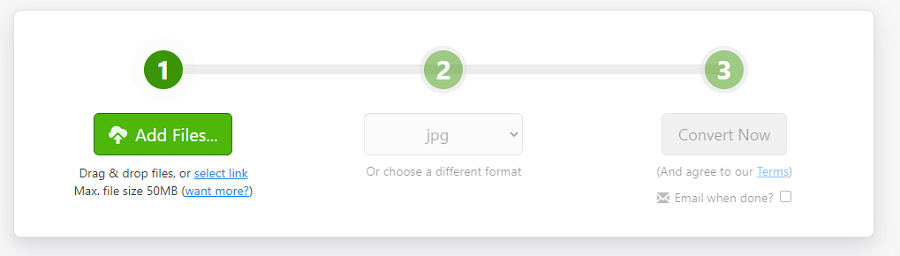 convert pdf to jpg on zamzar